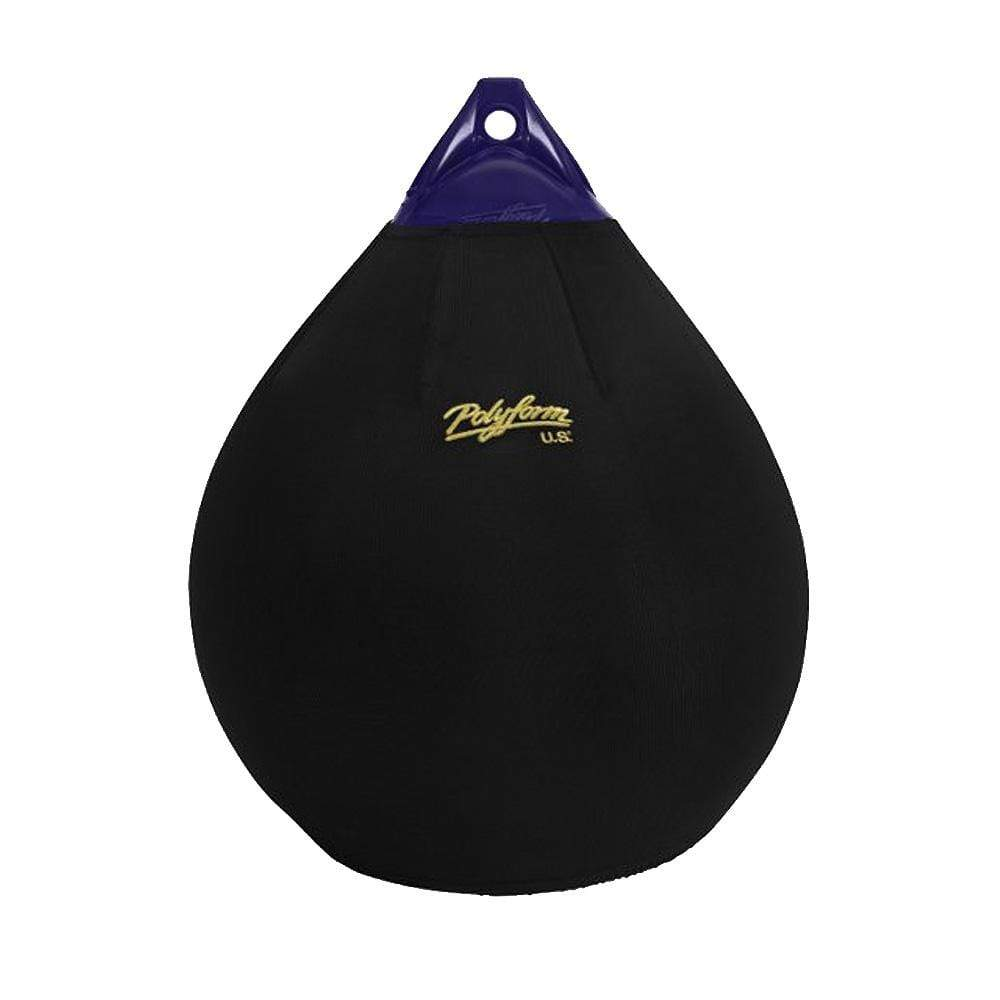 Polyform U.S. Qualifies for Free Shipping Polyform Fender Cover Black for A-5 Style #EFC-A5
