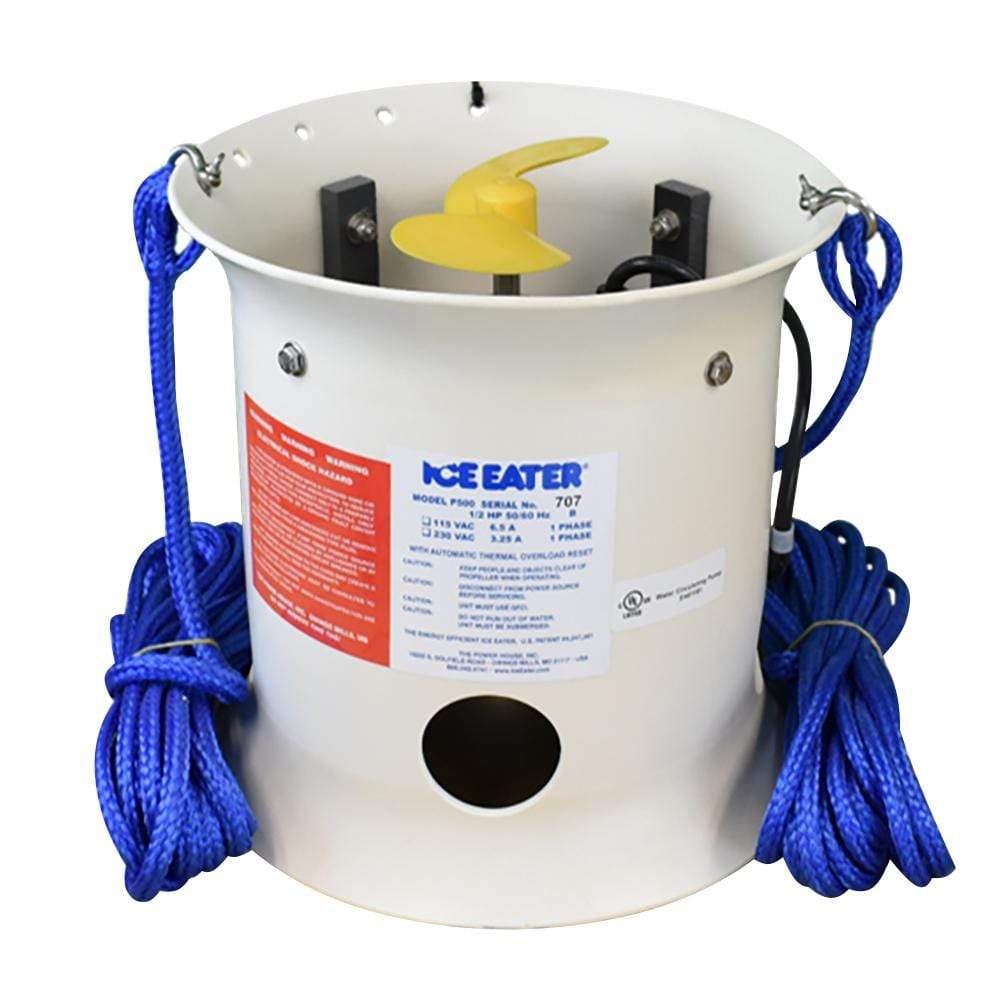 Ice Eater Not Qualified for Free Shipping Powerhouse 1/2 HP Ice Eater #P500-25-115V
