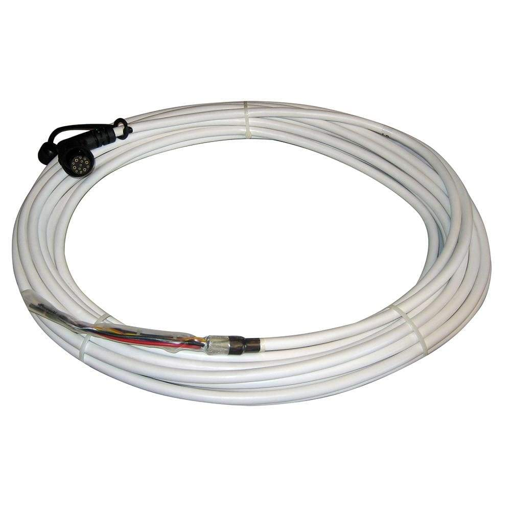 Raymarine Not Qualified for Free Shipping Raymarine 15M Light Radome Cable with Right Angle Connector #E55068