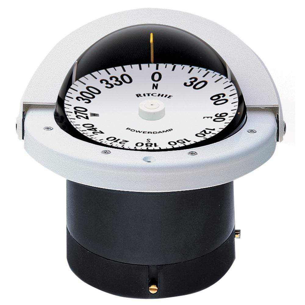 Ritchie Compass Qualifies for Free Shipping Ritchie Navigator White #FNW-201