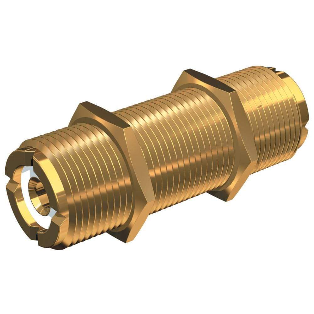 Shakespeare Qualifies for Free Shipping Shakespeare Bulkhead Barrell Connector for PL259 #PL-258-L-G