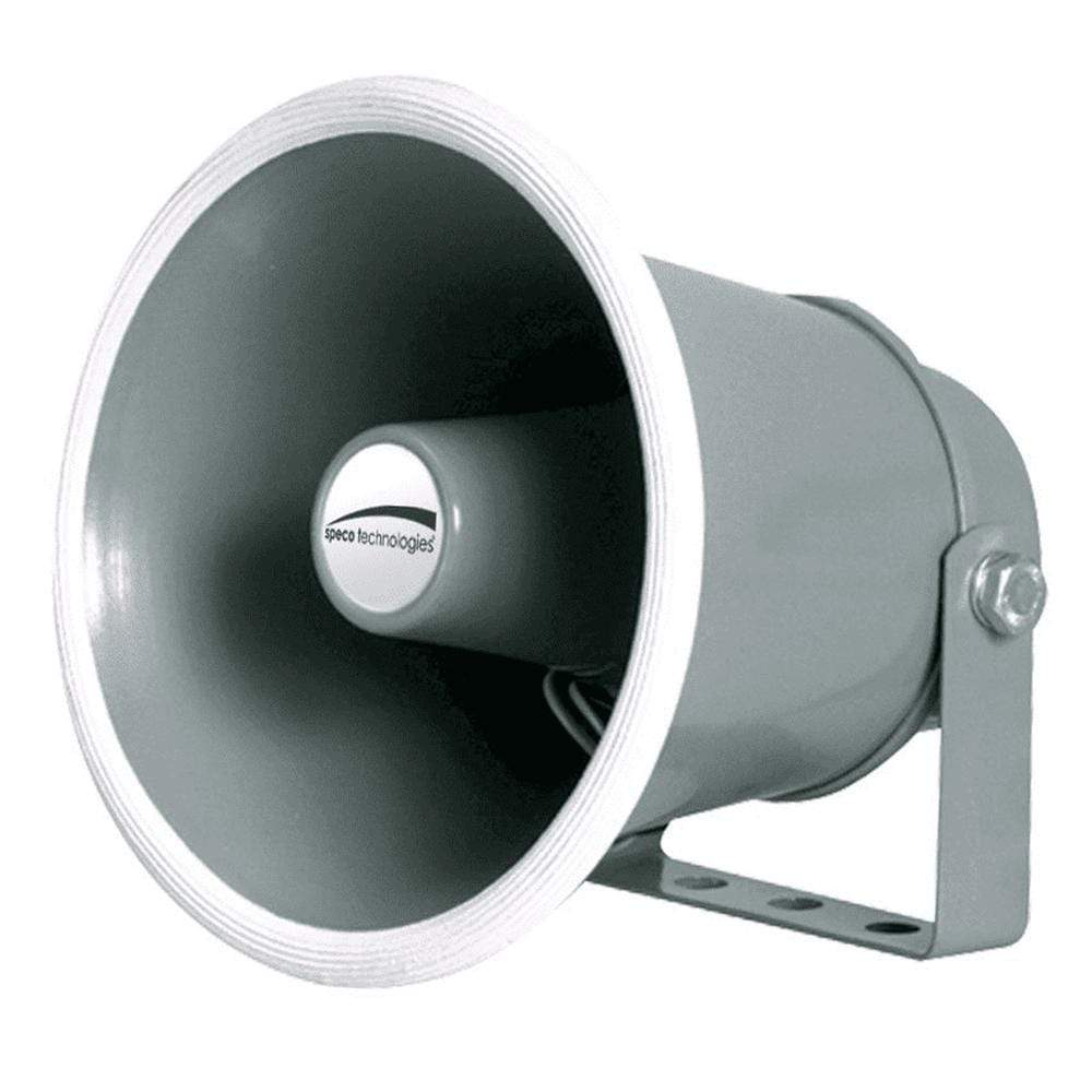 "Speco 6"" Weather-Resistant Aluminum Speaker Horn 4 Ohms #SPC104"