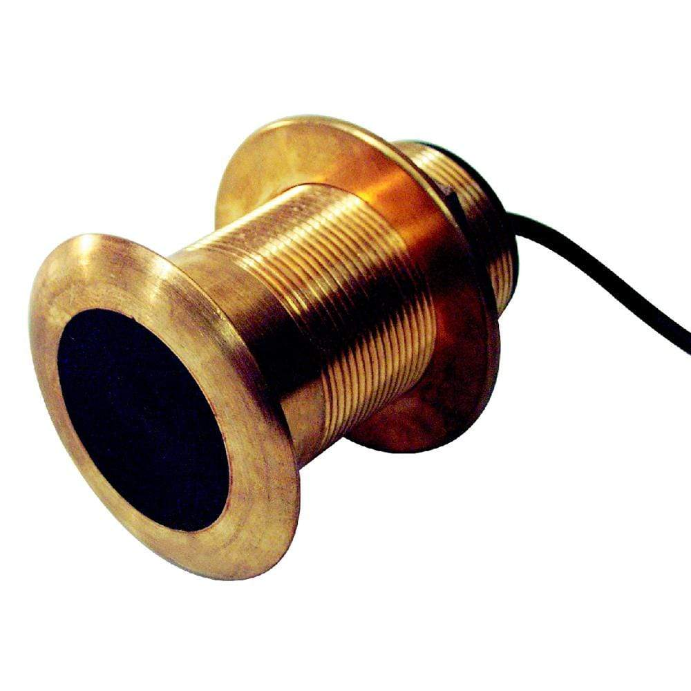 "Standard Horizon Qualifies for Free Shipping Standard Horizon 2"" Bronze Thru-Hull Depth/Temp Transducer #DST523"