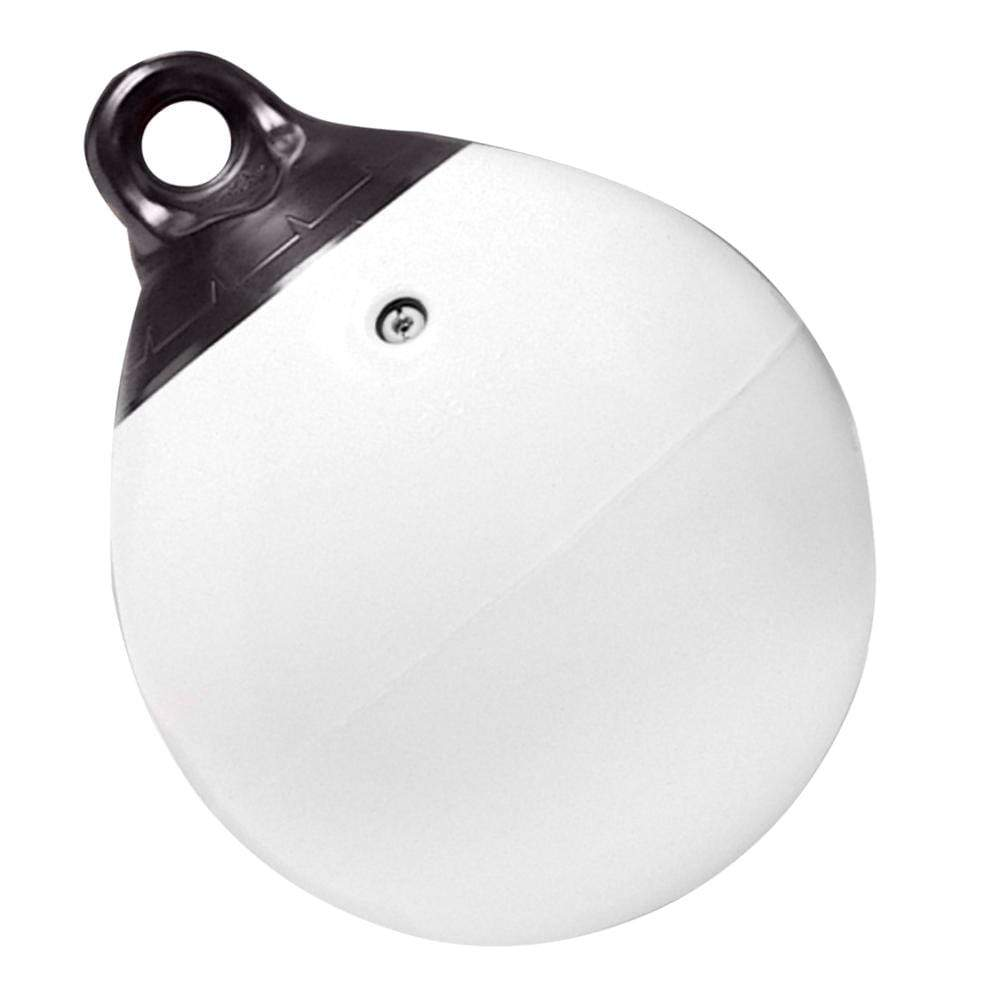 "Taylor Made Qualifies for Free Shipping Taylor Made 12"" White Tuff End Inflatable Vinyl Buoy #1143"