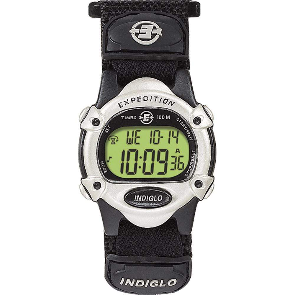 Timex Qualifies for Free Shipping Timex Expedition Womens Chrono Alarm Timer Silver/Black #T47852