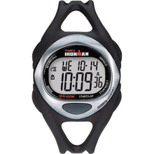 Load image into Gallery viewer, Timex Qualifies for Free Shipping Timex Ironman Triathlon 50-Lap Full Size Black/Stainless #T54281