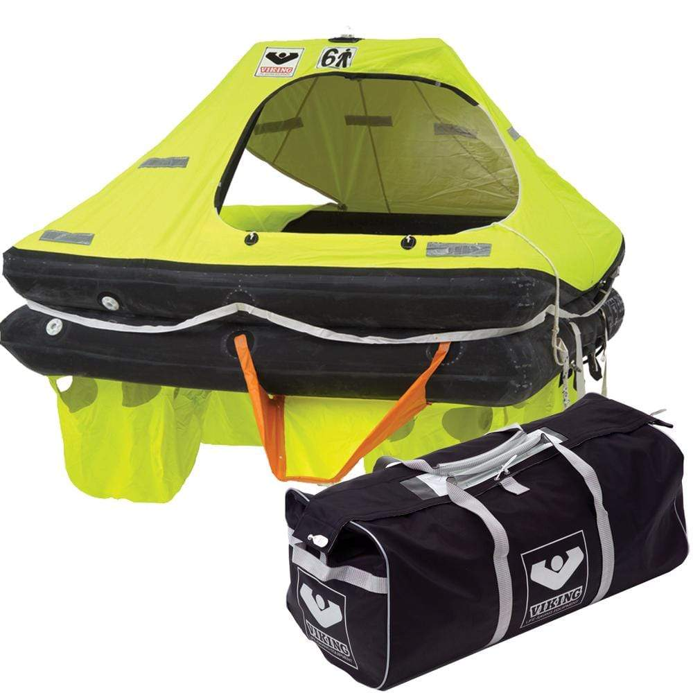 VIKING Truck Freight - Not Qualified for Free Shipping VIKING RescYou Coastal Liferaft 6-Person Valise #L006UCL040ABB