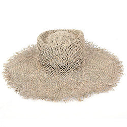 Ladies Sea-Grass Sun Hat - PLIVATI Swimwear Accessories