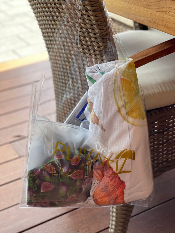 PLIVATI Clear Beach Essentials Bag