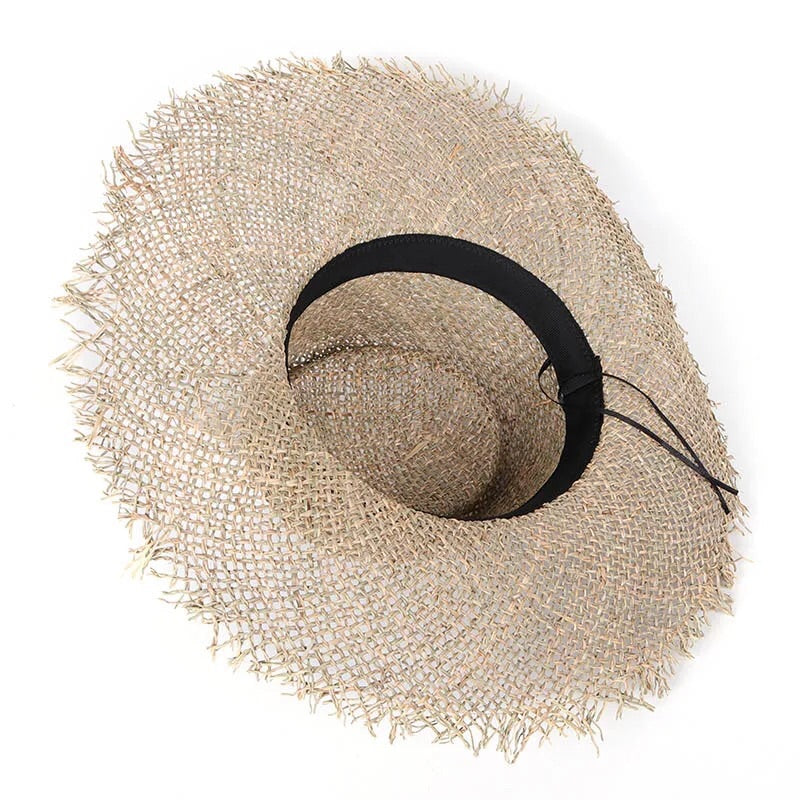 Ladies Sea-Grass Sun Hat