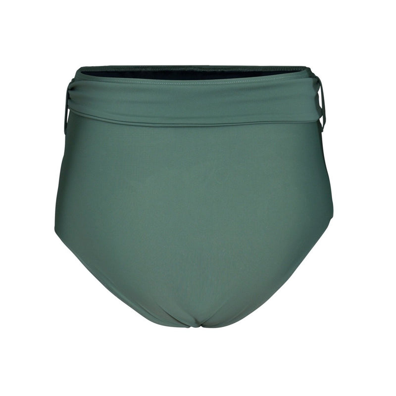 LUCIA 'Sage' High Waist Bikini Bottoms with Removable Waist Tie