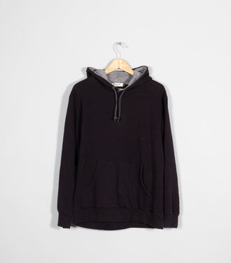 Rework Hooded Sweatshirt With Elastic Stoppers