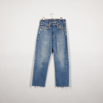 Rework High Waist Jeans Cut Off