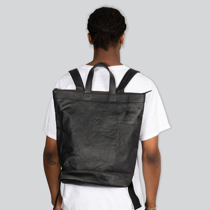 Rework Leather Backpack Bill-03
