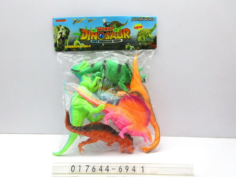 Dinosaurs Set P/b 6941 - Evergreen Toys