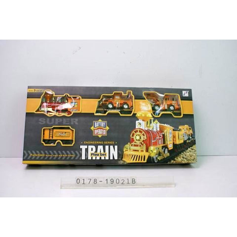 Train Engineering series - Evergreen Toys