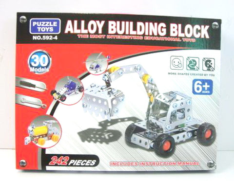 Alloy Building Block 592 4 - Evergreen Toys