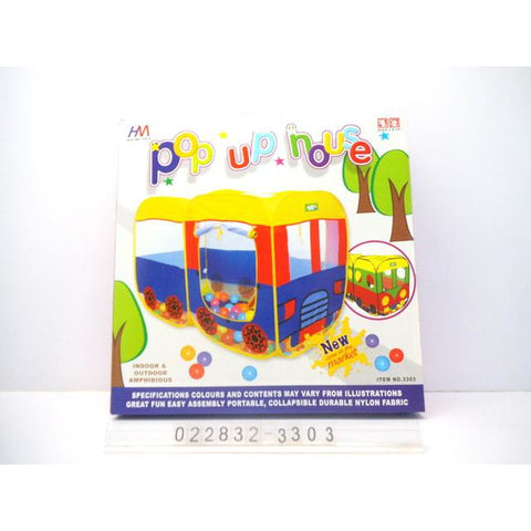 Pop Up Tent House - Evergreen Toys