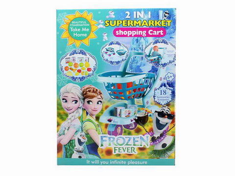 Frozen Shopping Trolley BL8807F - Evergreen Toys