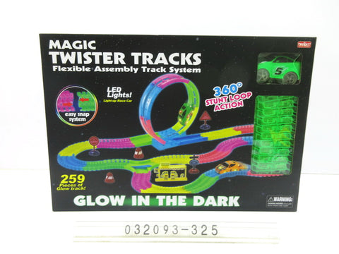 Glow In the Dark Track Set 325 - Evergreen Toys