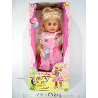 Doll Walking And Singing 249