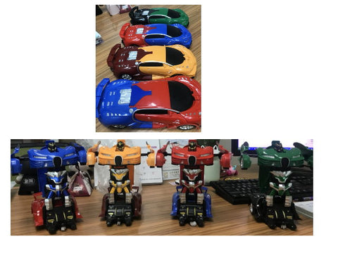 2019-1 Transformer Car - Evergreen Toys