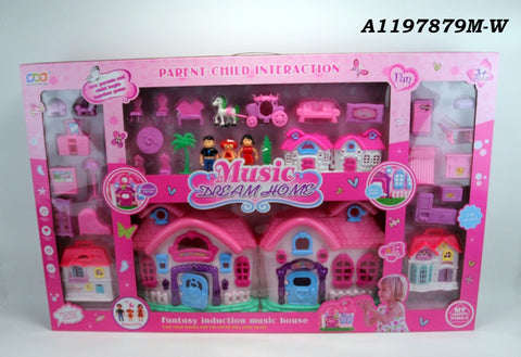 666-663 Doll House - Evergreen Toys