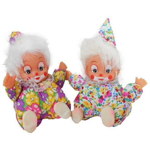Soft Clowns Pack of 2 - Evergreen Toys