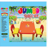Evergreen Jumbo Table With Two Chairs