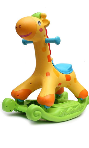 Evergreen Rocking And Riding Giraffe - Evergreen Toy Store