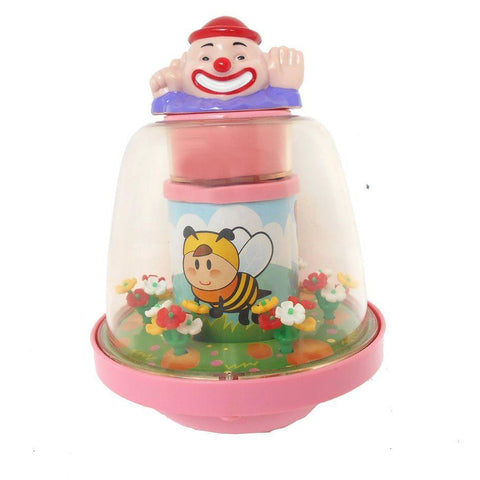 Rolling Clown Box - Evergreen Toys
