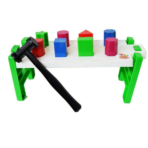 Play Bench Shape Sorter - Evergreen Toys