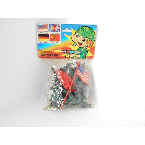 Soldier Set Pack of 15 - Evergreen Toys