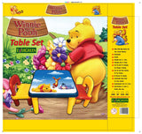 Evergreen Jumbo Table With Two Chairs (Pooh)