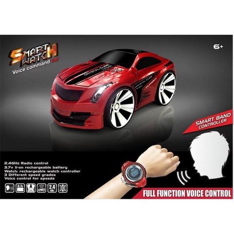 RC Smart Watch Voice Command Car - Evergreen Toys