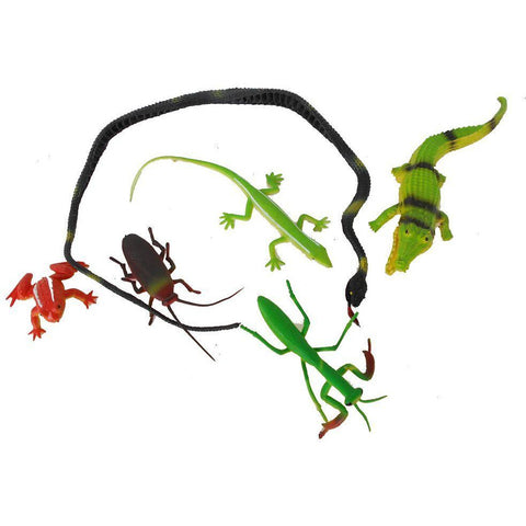 Plastic Insects Assorted Pack of 5 - Evergreen Toys