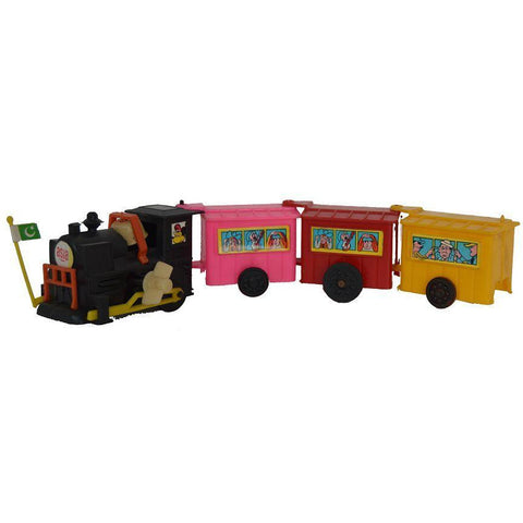 Wind up Train with boogies - Evergreen Toys