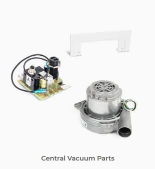 Browse our Central Vacuum Parts Collections
