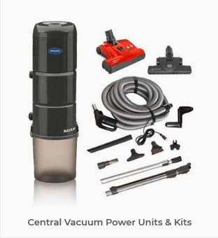 Browse our Central Vacuums Power Unit Collection