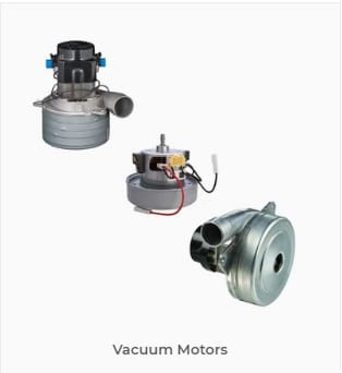 Browse our vacuum motors