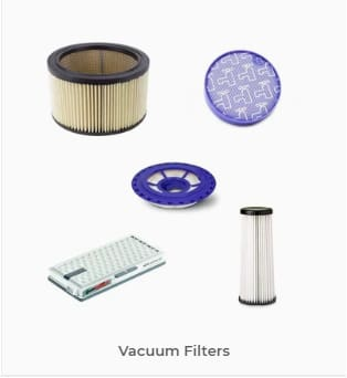 Browse our vacuum Filters