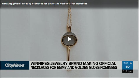 CityNews - Winnipeg jeweler creating necklaces for Emmy and Golden Globe Nominees