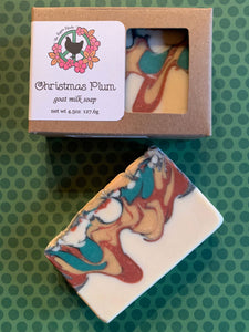 Christmas Plum Goat Milk Soap