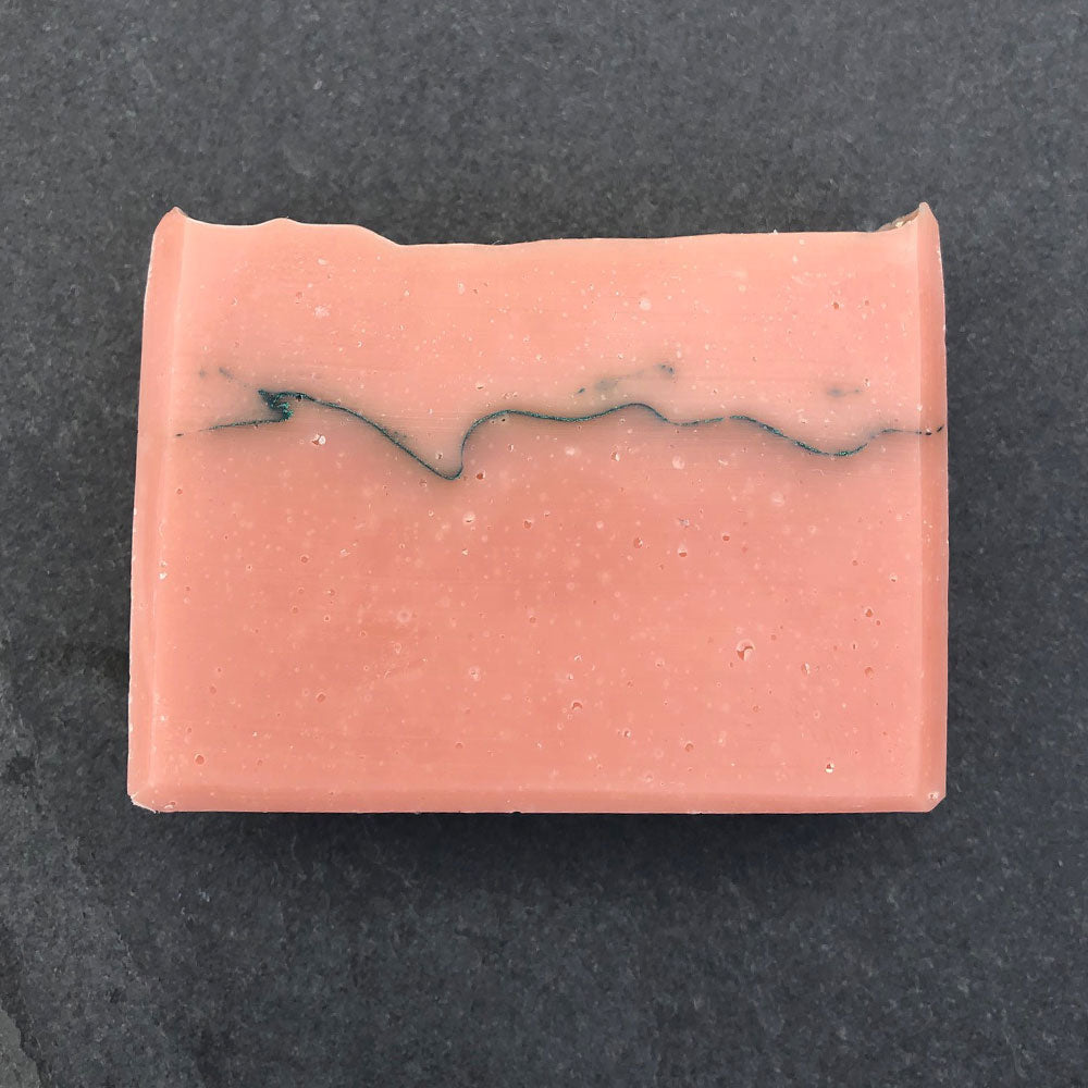 Pink Grapefruit Basil Coconut Milk Soap