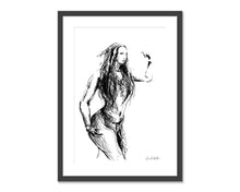 Load image into Gallery viewer, Number 2.  Original fine art print
