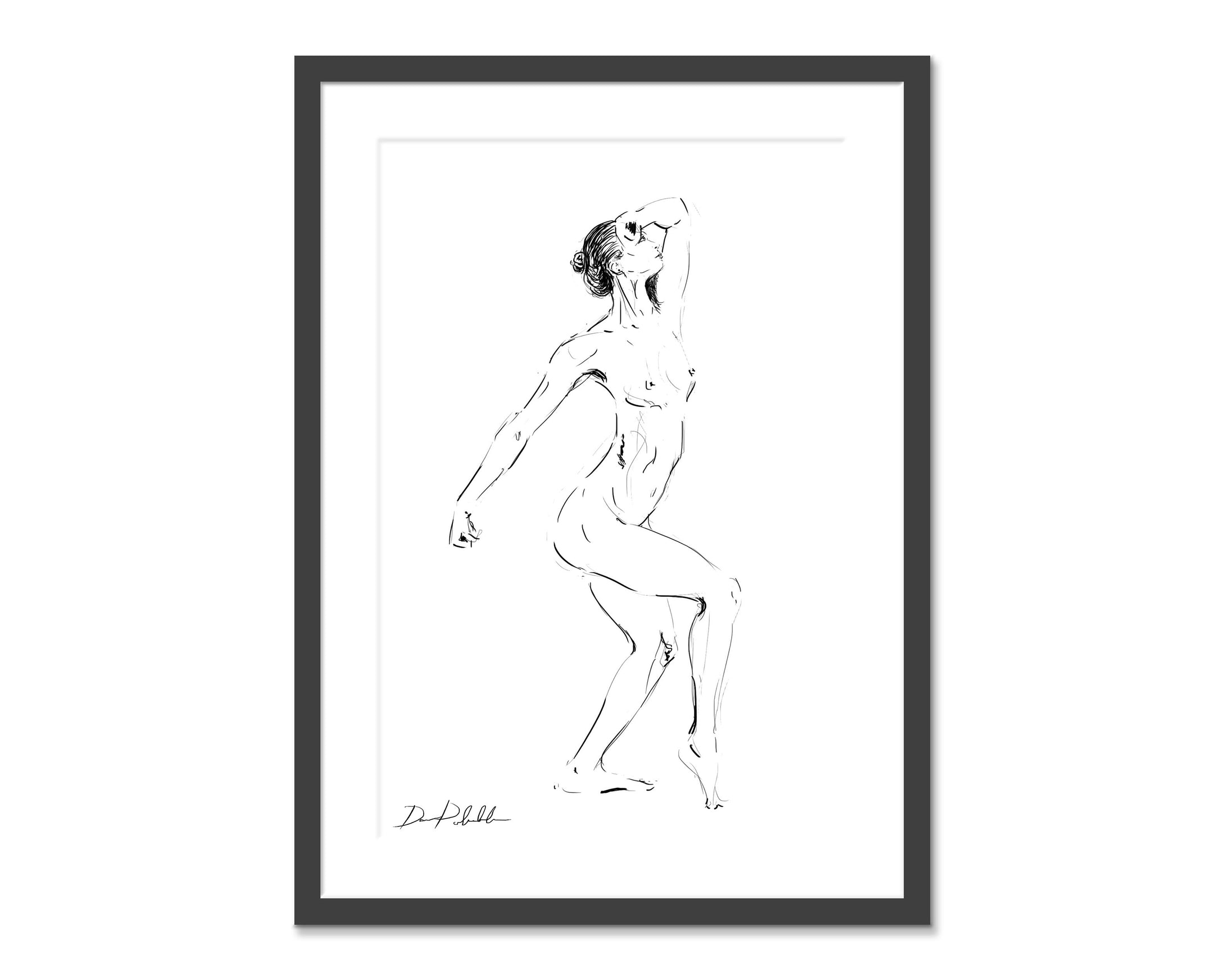 Number 7.  Original fine art print