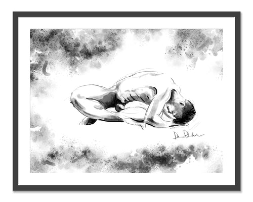 Number 13.  Original fine art print