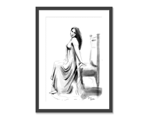 Number 22.  Original fine art print