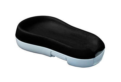 Onyx Black Change-in-Pod by CheBebe.  The first all-in-one changing pad.