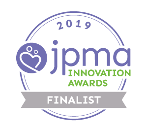 JPMA innovation award finalist. The best changing pad. Change-in-Pod